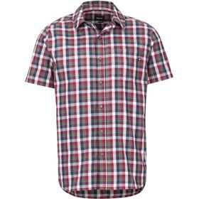 Marmot Kingswest SS Shirt Herre sienna red